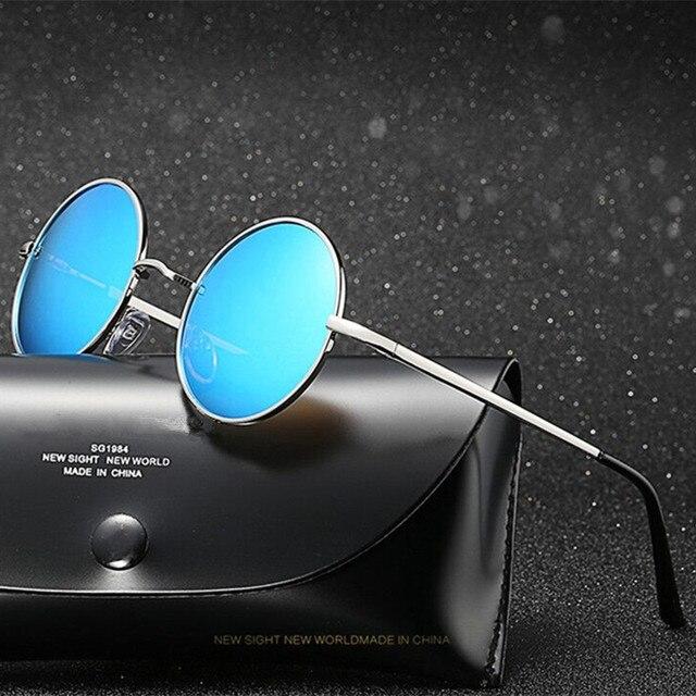 6794643f694c0 Nova Unisex Óculos de John Lennon Estilo Rodada Do Vintage óculos de Sol De  Paz homens