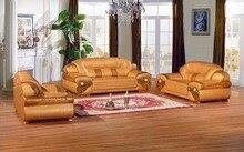 Шезлонги, диваны для Гостиная кресло секционная 2017 Y. G Мебель Лидер продаж дешевая цена роскошный большой Размеры кожаный диван