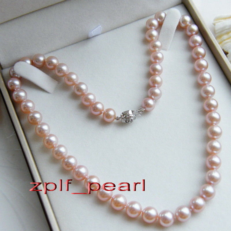AAAAA LUSTER 179-10mm REAL NATURAL round south sea GOLD PINK pearl necklace AAAAA LUSTER 179-10mm REAL NATURAL round south sea GOLD PINK pearl necklace