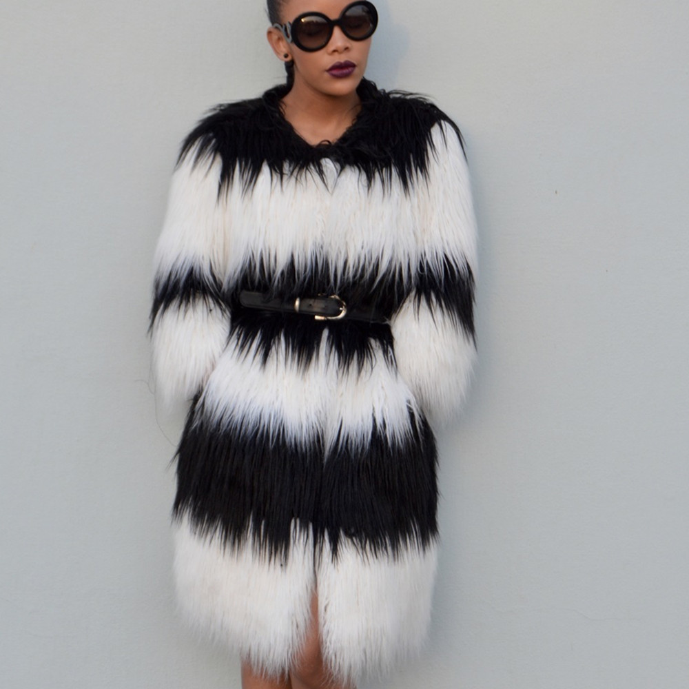 Popular Long Faux Fur Jacket-Buy Cheap Long Faux Fur Jacket lots ...