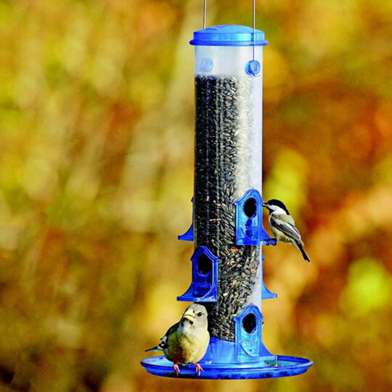 Online buy wholesale blue bird feeder from china blue bird for Bird food holder