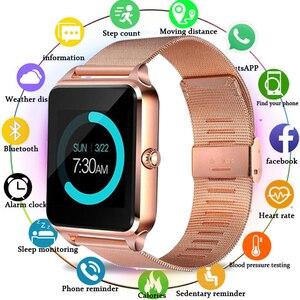 Smart Watch Z60 Metal Strap Bl