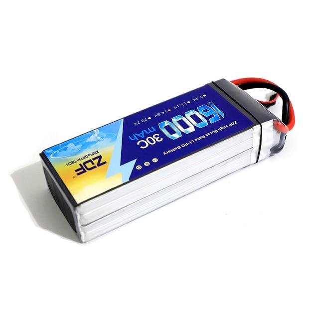 ZDF 16000mAh Lipo Battery 7.4V 11.1V 14.8V 18.5V 22.2V 44.4V 48.1V 25C for Big Load RC Parts AKKU 2S 4S 5S 6S 12S 13S