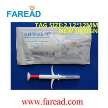 FREE SHIPPING x20pcs  1.25*7mm  FDX-B Animal  Syringe + x1pc  Animal ID Scanner with ICAR Certificate ISO11784/11785