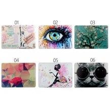 Cartoon Blume Mädchen Katze Speichern Sie die Datum Großen Augen Muster Matte Harte abdeckung Fall Für Apple Macbook Air 13 Pro 13 Retina 13 13,3 zoll