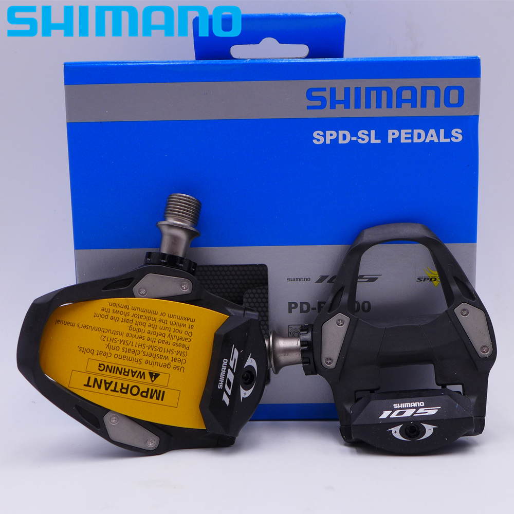 New Shimano 105 PD-R7000 SPD-SL Road Carbon Pedal SM-SH11 Cleats