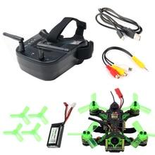 купить Mantis85 85mm 5.8G FPV Micro Racing Drone Quadcopter BNF 600TVL Camera VTX & Double Antenna 3 Inch Mini Video Goggles for FLysky онлайн