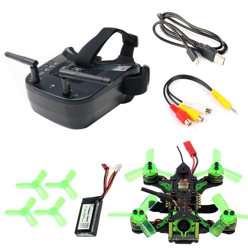Mantis85 85mm 5,8G Micro FPV carreras de Drone Quadcopter BNF 600TVL Cámara VTX y doble Antena 3 pulgadas Mini gafas de vídeo para FLysky-in Helicópteros RC from Juguetes y pasatiempos    1
