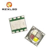 10 Шт. / Лот PLCC8 Поверхностный Монтаж 5050пакет RGBW Серии LED 20 Вт Диод Для Сценических Огней