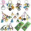 [SGDOLL]Hayao Miyazaki Totoro Phone Rope Lobster Clasp Necklace or Metal Small Adorn Article Hang Anime Accessories ZT0027