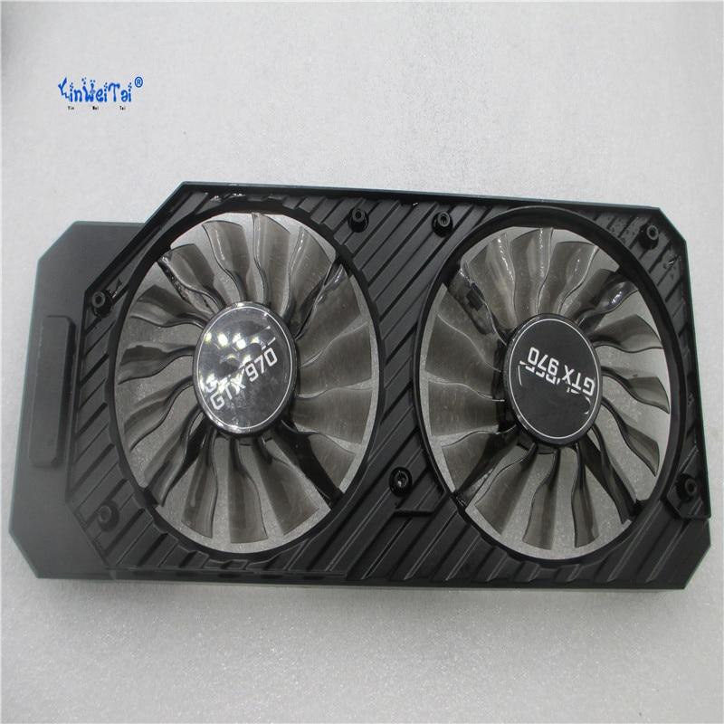 NEW AC09215MHSPAA GA92S2H -PFTA 12V 0.35A FOR GEFORCE GTX970 Graphics card dual fan msi gtx970 gtx980 gtx980ti graphics card cooling fan