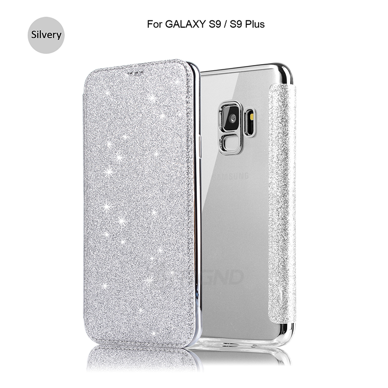 Book Leather+TPU Wallet Flip Protect Samsung Galaxy S9 S8 Plus Note8 Samsung S7 S6 Edge Protection Case