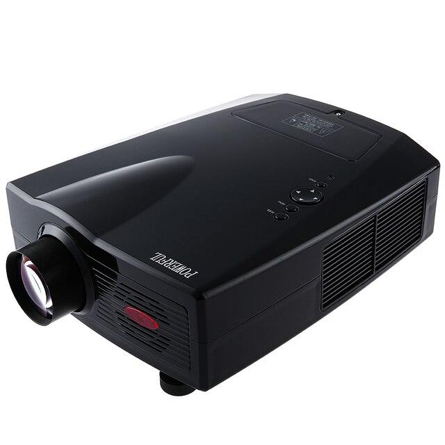 Оригинал 3500 Люмен МОЩНЫЙ SV-100 1080 P 1920x1080 Пикселей HD LED Домашний Кинотеатр Видеоигры Проектор Полная Поддержка HD беспроводной