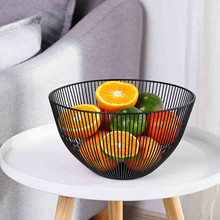 Металлическая проволока для фруктов, овощей, закуски, подставка для тарелки, корзина, настольный кухонный стеллаж для хранения, держатель для конфет, фруктов, скандинавского металла, арт-Органайзер