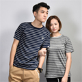Fashion Men T-Shirts T shirt Homme Summer 100% cotton Short Sleeve T Shirts Striped Brand Tee Shirts for men and Women Hip Hop
