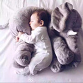Crianças travesseiro de enfermagem bebê elefante bebê apoio de cabeça de alimentação viagem travesseiro da cama de algodão para crianças decoração do quarto