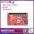 Led контроллер карты BX-5U3 Onbon один цвет led платы управления 128*1024 пикселей p10 светодиодный экран программируемый дисплей знак доска