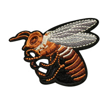 Custom Embroidered Badges Bees embroidery patch DIY Your Own Patch Any Design Qty Can Be Customized