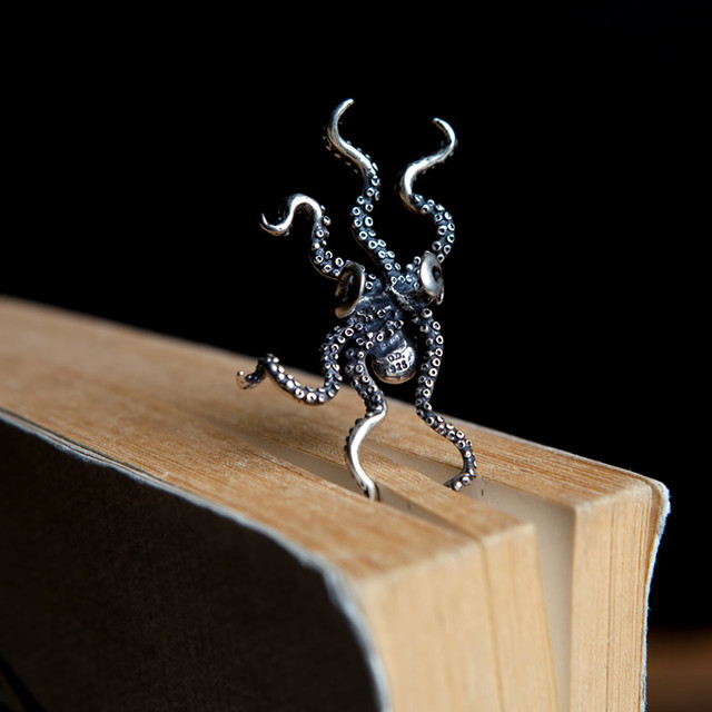 2d5f2b9f3 925 Sterling Silver Octopus Earring (1 piece)