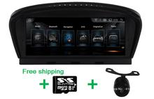 8.8 inch Android 4.44 автомобиль DVD GPS для BMW E60 E61 E63 E64 M5 HD1028 * 480, iDrive руль Поддержка Все оригинальные функция