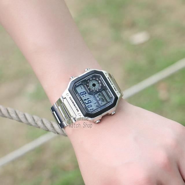 Casio watch men set brand luxury LED digital  2