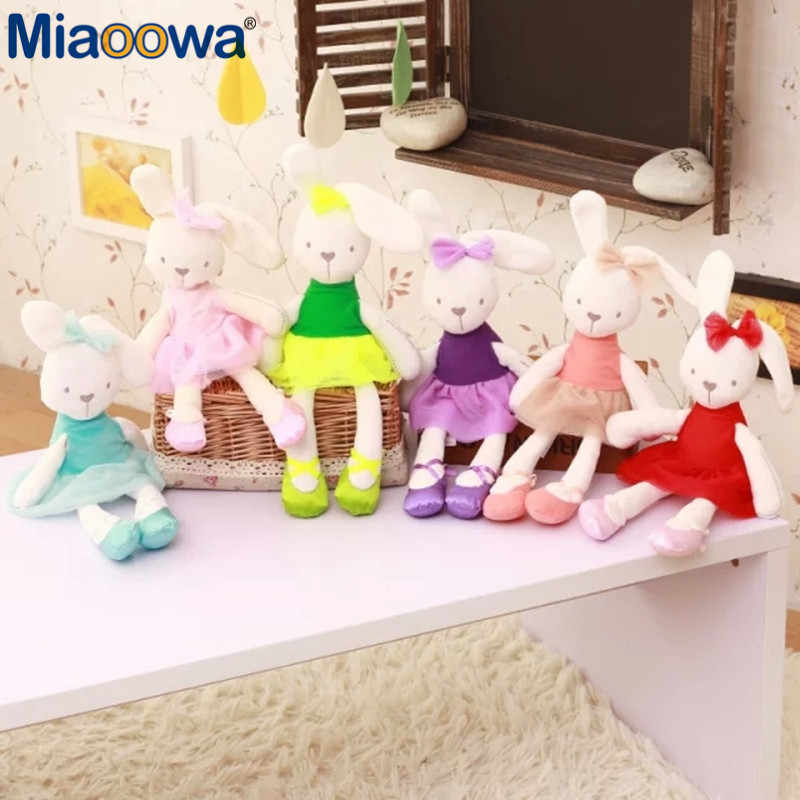 3f05d390abbf Detail Feedback Questions about 1pc 45cm cute rabbit wear cloth with ...