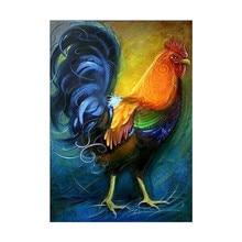 Diamond Embroidery 5D DIY Painting Chicken Animal Cross-stitch Rhinestone Decoration