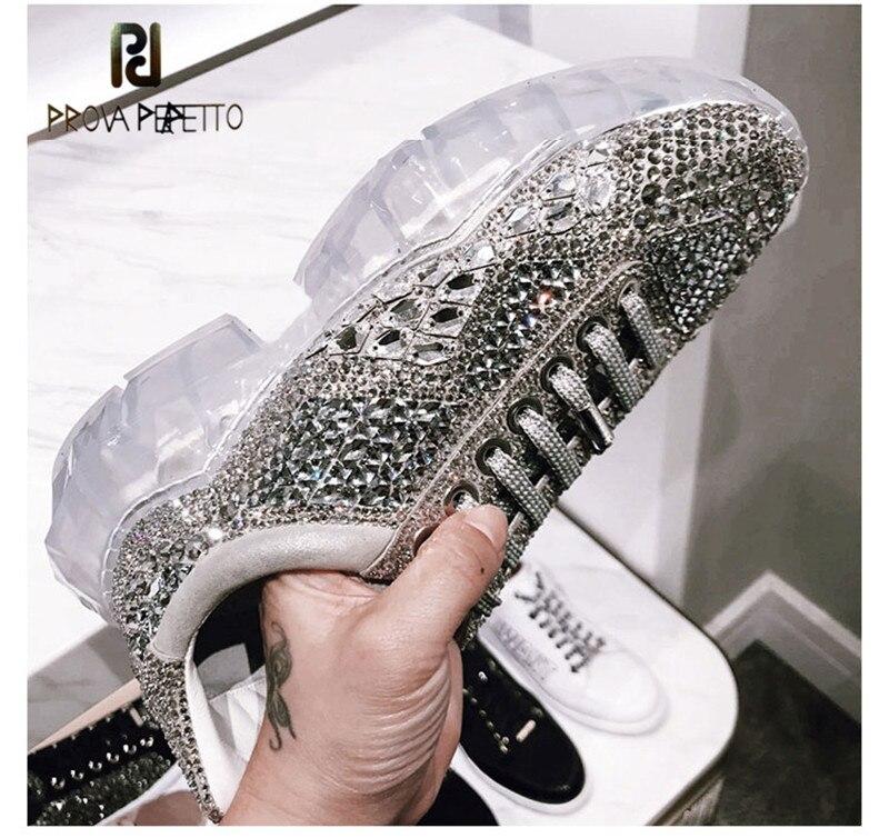 Dama Bling Las Papá Calidad Moda Diamantes Marca Increíble Más Zapatillas Mujeres Brillante 2019 Deporte Lujo Para Imitación De Plata La Zapatos HzqwAAxC