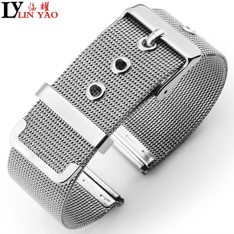 Steel mesh thin for quartz watches Bracelets 16mm 24mm men Watchband stainless.Apply to DW Calvin Klein, Timex watches band.