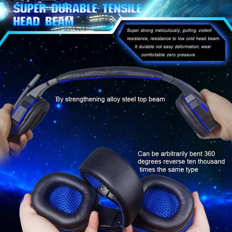 Наушники проводные наушники гарнитура стерео Интернет кафе прочный колодки Портативный 3,5 мм для PS4
