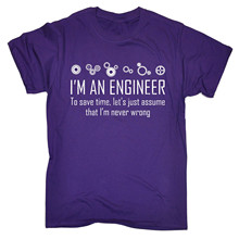 I'm an Engineer… T-shirt / 4 Colors