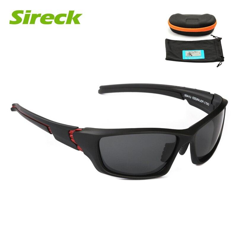 Sireck UV400 Polarized Ciclismo óculos de Sol Óculos De Pesca Tênis Para  Caminhada Das Mulheres Dos Homens Outdoor Sports óculos de Sol Óculos de  Proteção ... 456f21e3ed
