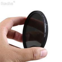 New Slim Adjustable Neutral Density ND2-400 Filter for Canon Nikon Sony Camera Lens 49 52 55 58 62 67 72 77 82mm