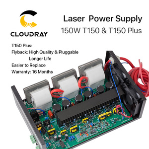 Image 3 - Cloudray 150W CO2 Laser Power Supply for CO2 Laser Engraving Cutting Machine HY T150 T / W Plus Series with Long Warranty