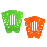 SUP 3 Pieces EVA Tail Pads Surfboard Deck Grips Traction Kitesurf Surfing Surf Longboard Boadboard For