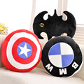 40 см avenger союза подушки сша капитан щит подушки бэтмен моделирование подушка подушки плюшевые игрушки