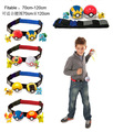 NEW hot Pikachu go The belt 120cm scalable Poke Ball collectors action figure toys Christmas gift doll