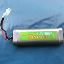 6800mAh 7.2v NiMh GTL Toy Battery Flat Racing car replacement battery for RC Airplane Helicopter Boat ,With Tamiya Connectors nvision 7 2в 4200мач nimh силовой разъем tamiya