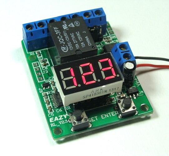 12V relay board / counter / countdown trigger / voltmeter detection control12V relay board / counter / countdown trigger / voltmeter detection control