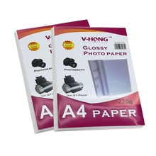 High quality no faded  A4 size Glossy photo Paper For Inkjet Printer