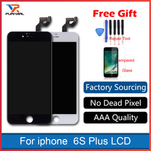 Grade AAA No Dead Pixel For iPhone 6s Plus 5 SE LCD Screen Display 3D Touch Screen Digitizer Assembly Replacement White&Black цена в Москве и Питере