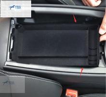 Interior For Mercedes-Benz C Class W205 2015 Central Storage Pallet Armrest Container Box 1 pcs