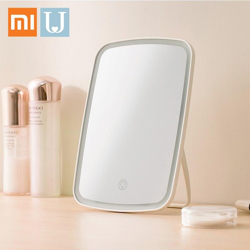 Xiaomi Mijia Intelligent Portable maquillage miroir bureau lumière LED Portable pliant lumière miroir dortoir bureau pour femme filles