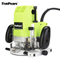 FIVEPEARS 1850 w Elektrische Router 6mm 8mm 12mm Houtbewerking Trimmer Router Trimmer Slot Machine Gift 1/2