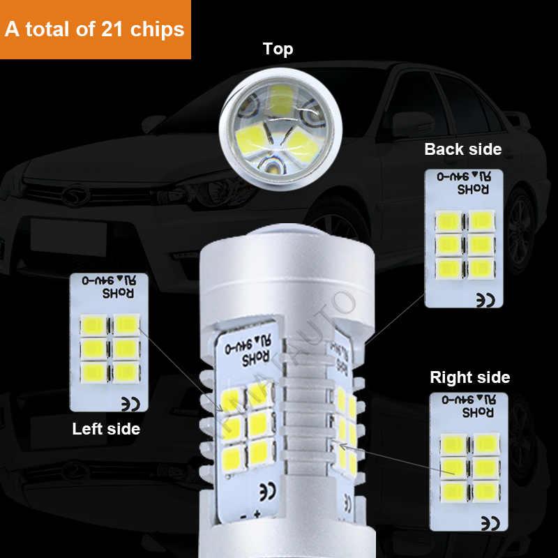 2x Белый светодиодный H7 H11 H8 H10 9145 HB3/9005 9006/HB4 H16 светодиодный 21SMD авто дальнего света дневного света Противотуманные лампы