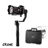 Zhiyun Grue 3 axes De Poche Stabilisateur cardan + À Distance pour DSLR Canon SONY A7 Panasonic Caméras Charge 1800 en gros