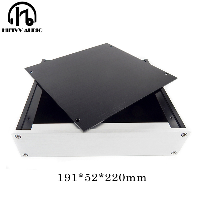 Aluminum case D2205 Aluminum Headphone Amplifier Chassis Preamplifier Enclosure AMP BOX PSU case