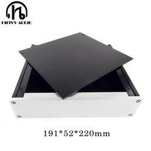 Caja de aluminio D2205 para amplificador de auriculares, carcasa para chasis para preamplificador, caja para PSU