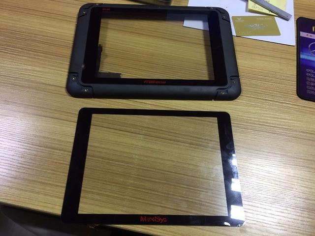 Touch Für AUTEL MaxiSys Pro MS905 MS906 MS908 P TS BT PRO Automotive Diagnostic touch screen panel Digitizer Glas sensor-in Tablett-LCDs und -Paneele aus Computer und Büro bei