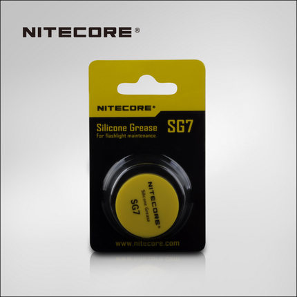 1 piece best price Hot sale NiteCore SG7 silicone grease flashlight (5g)1 piece best price Hot sale NiteCore SG7 silicone grease flashlight (5g)
